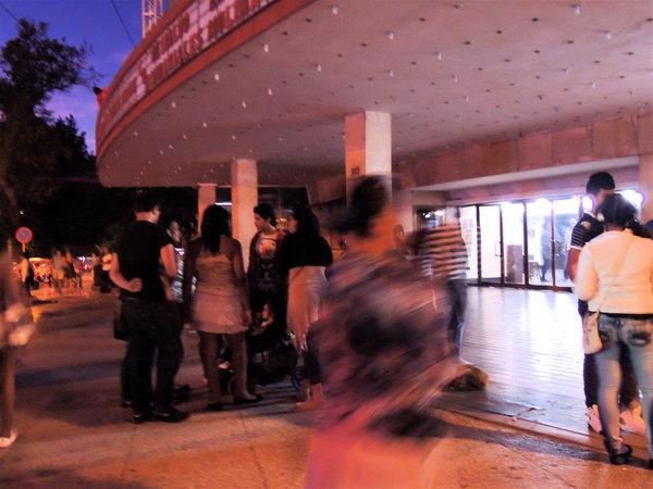 Le public du Ciné Yara 2013
